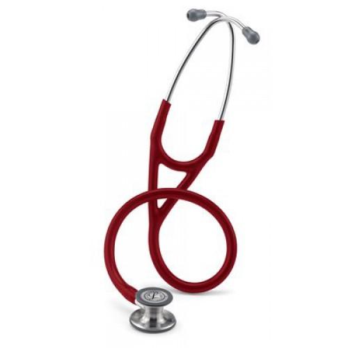 Littmann Cardiología IV Estetoscopio, Chestpiece De Acabado Estándar, Borgoña Tubo # 6153