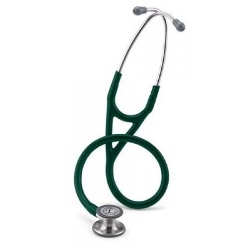 Estetoscopio Littmann Cardiología IV, Chestpiece Acabado Estándar, Hunter Green Tube # 6155