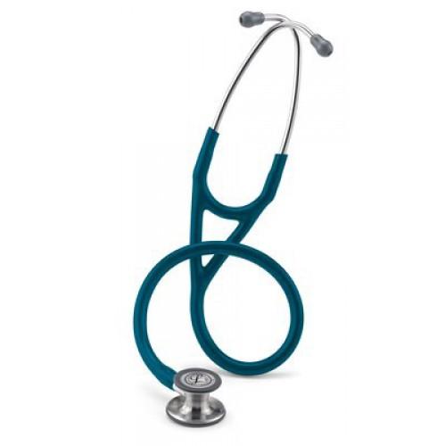 Estetoscopio Littmann Cardiología IV, Chestpiece Acabado-Estándar, Tubo Azul Caribe # 6157